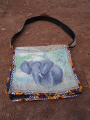 Book Bag (Elephant)